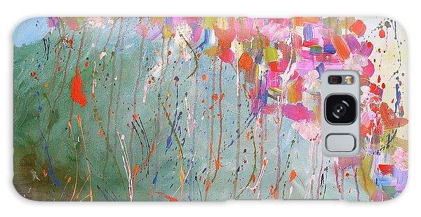 Love Flower Mountain Galaxy Case