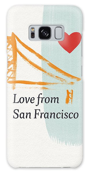 Heart Galaxy Case - Love From San Francisco- Art By Linda Woods by Linda Woods