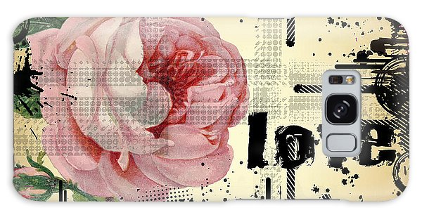 Love Grunge Rose Galaxy Case