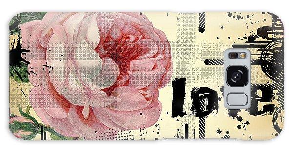 Love Grunge Rose Galaxy Case by Robert G Kernodle
