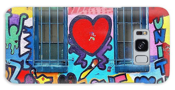 Galaxy Case - Love Haring  by Rob Hans
