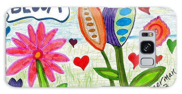 Love In Bloom Galaxy Case
