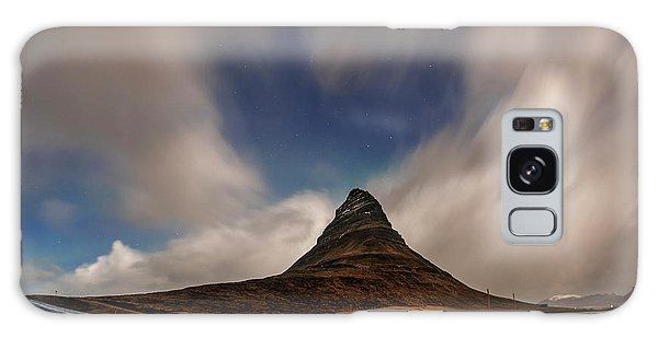 Galaxy Case featuring the photograph Love In Nature Over Kirkjufell by Pradeep Raja PRINTS