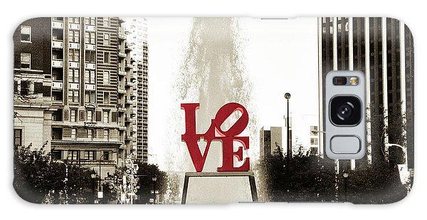 Love In Philadelphia Galaxy Case