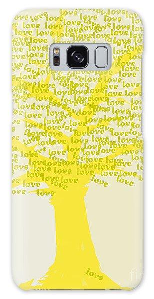 Love Inspiration Tree Galaxy Case by Go Van Kampen