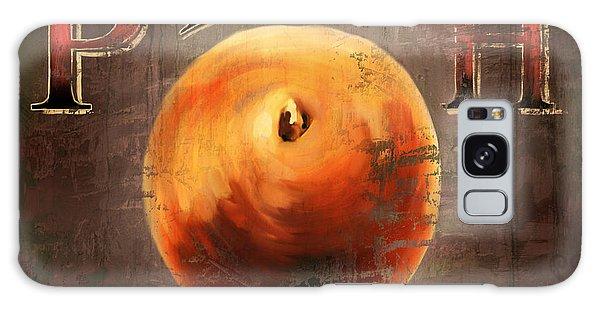 Love Is A Peach Galaxy Case