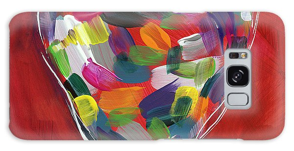 Heart Galaxy Case - Love Is Colorful - Art By Linda Woods by Linda Woods