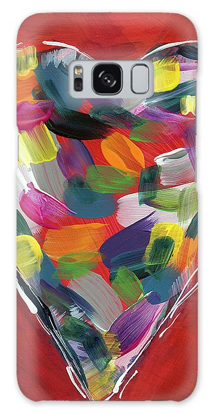 Friends Galaxy Case - Love Is Colorful - Art By Linda Woods by Linda Woods