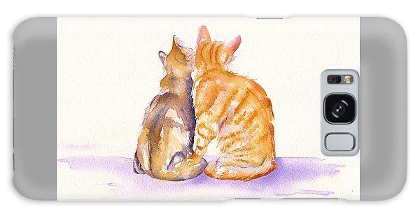 Cats Galaxy Case - Love Is... by Debra Hall