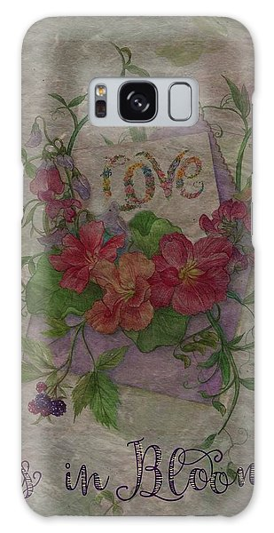 Love Is In Bloom Botanical Galaxy Case