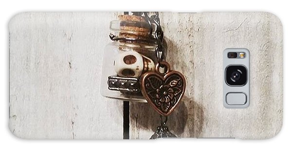 Steampunk Galaxy Case - 'love Jitters' 💘💀#vial #pendant by Katie McCrary