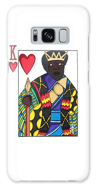 Galaxy Case featuring the painting Love King by Aliya Michelle