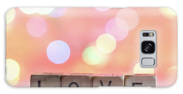 Love Lights Square Galaxy Case by Terry DeLuco