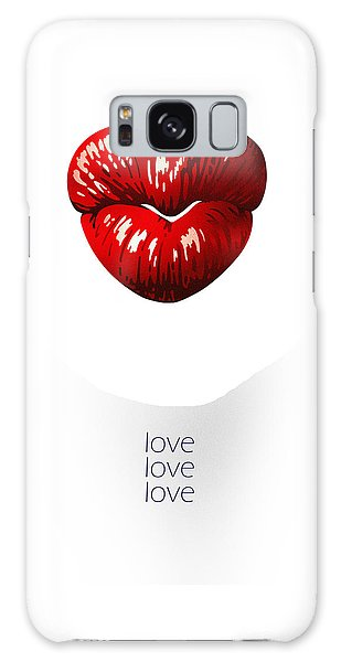 Love Poster Galaxy Case