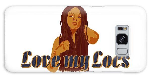 Love My Locs Galaxy Case