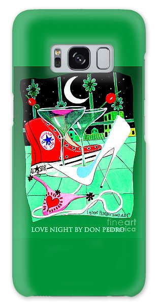 Love Night Galaxy Case