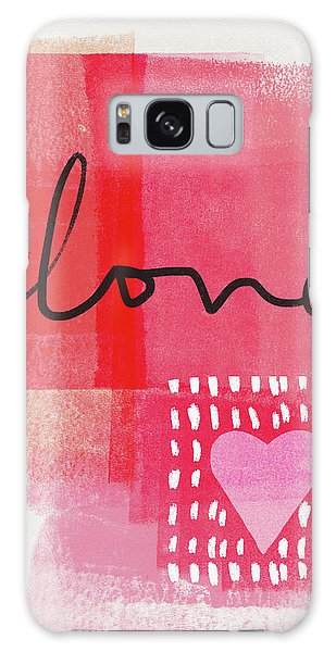 Friends Galaxy Case - Love Notes- Art By Linda Woods by Linda Woods