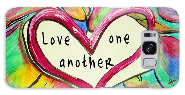 Love One Another John 13 34 Galaxy Case