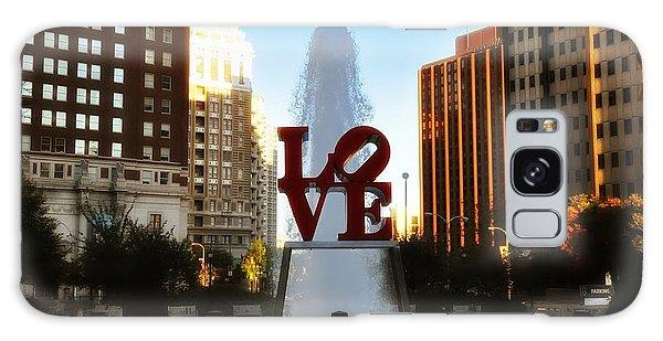 Love Park - Love Conquers All Galaxy Case