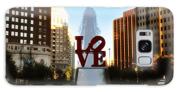 Love Park - Love Conquers All Galaxy Case