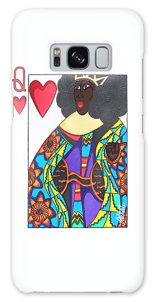 Galaxy Case featuring the painting Love Queen by Aliya Michelle