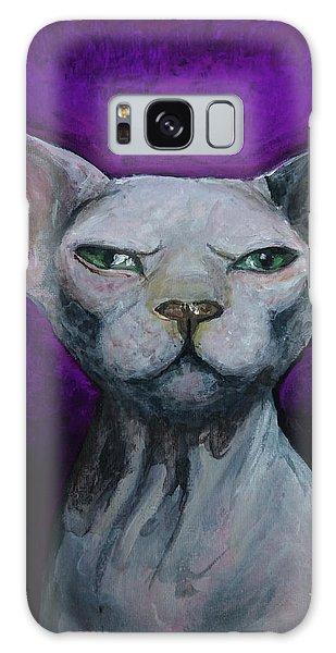 Love Sphynx Cat Galaxy Case