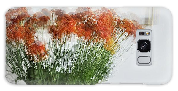 Vase Of Flowers Galaxy Case - Love To Mother by Linde Townsend