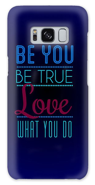 Motivational Galaxy Case - Love What You Do by Linda Enzor