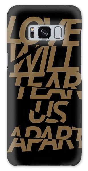 New Trend Galaxy Case - Love Will Tear Us Apart #gold by Art Popop