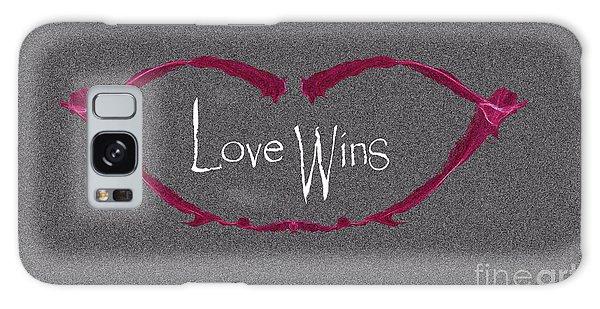 Love Wins Galaxy Case