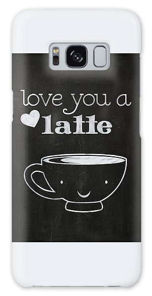 Love You A Latte Galaxy Case
