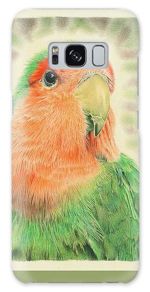 Lovebird Galaxy S8 Case - Lovebird Pilaf by Remrov