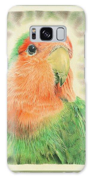 Lovebird Pilaf Galaxy Case