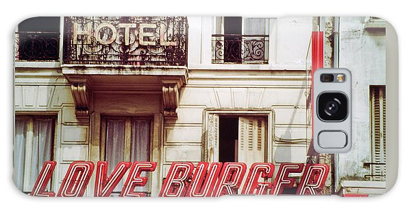 Loveburger Hotel Galaxy Case