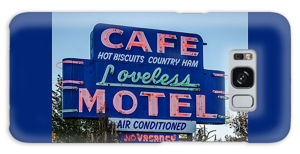 Loveless Cafe And Motel Sign Galaxy Case
