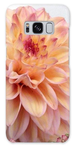 Florals Galaxy Case - Dahlia Flower Bouquet by Blenda Studio