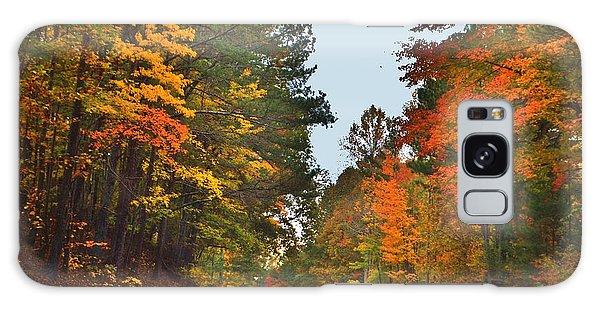 Lovely Autumn Trees Galaxy Case