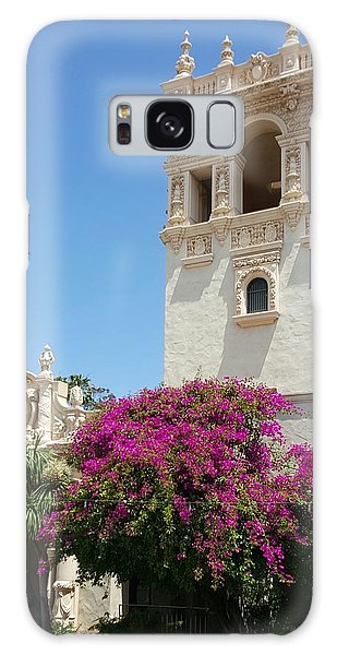Lovely Blooming Day In Balboa Park San Diego Galaxy Case