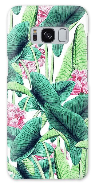 Lovely Botanical Galaxy Case