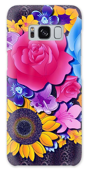 Lovely Bouquet Galaxy Case by Samantha Thome