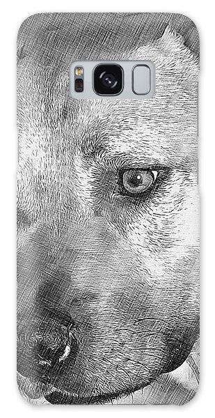 Lovely Dog Galaxy Case