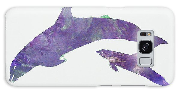 Lovely Dolphins Galaxy Case