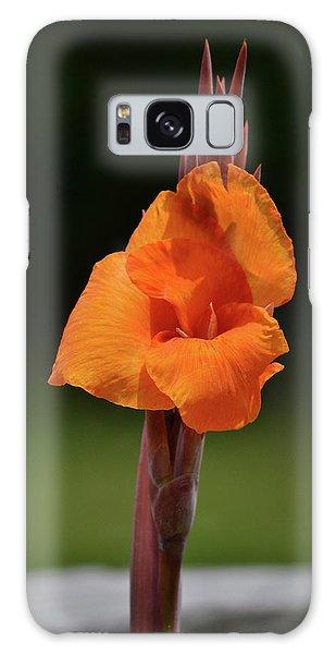 Lovely Iris Flower Galaxy Case