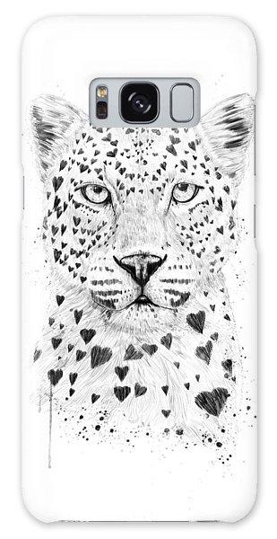 Leopard Galaxy S8 Case - Lovely Leopard by Balazs Solti