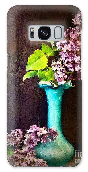 Lovely Lilacs Galaxy Case
