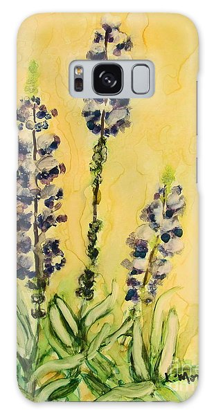 Lovely Lupines Galaxy Case