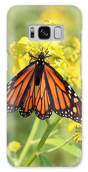 Lovely Monarch Galaxy Case