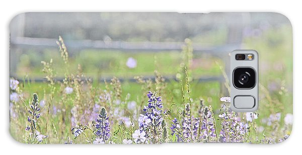 Galaxy Case featuring the photograph Lovely Montana Wildflowers by Jennie Marie Schell