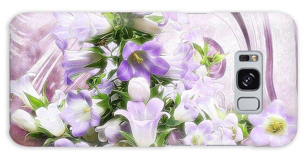 Lovely Spring Flowers Galaxy Case by Gabriella Weninger - David