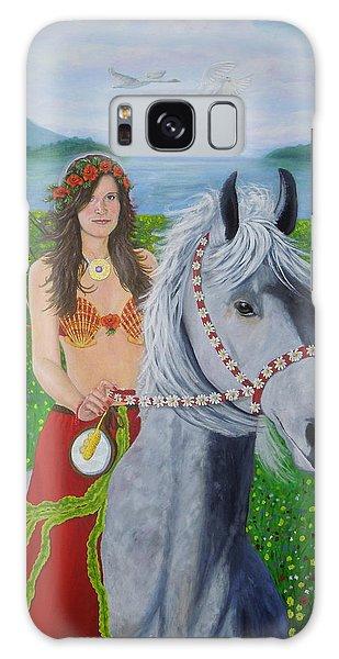 Lover / Virgin Goddess Rhiannon - Beltane Galaxy Case